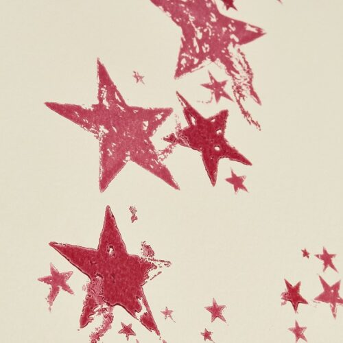 All Star wallpaper in colour way Candy by Barnaby Gates