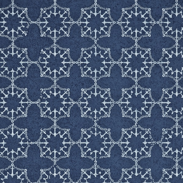 Anchor wallpaper in Marine by Barnaby Gates